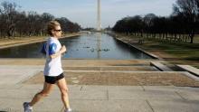 امرأة تمارس رياضة الركض - أرشيفية