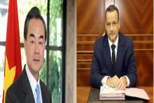 وزيرا الخارجية الموريتاني والصيني (و م أ)
