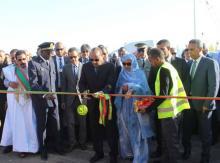 تدشين المشروع الذي وضع حجره الأساس يوم 16 – 04 – 2014
