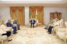 الرئيس غزواني يستقبل بعثة من آفريكوم ـ (المصدر: وما)