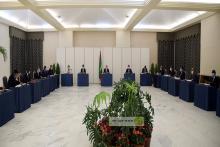 جانب من اجتماع المجلس منتصف الشهر الجاري