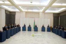 جانب من اجتماع مجلس الوزراء (و م أ)