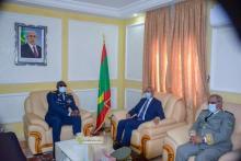 لقاء بين وزير الدفاع وقائد الأركان السنغالي ـ (المصدر: وما)