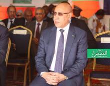 الرئيس محمد ولد الشيخ الغزواني-(المصدر: الصحراء)