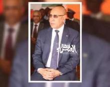 الرئيس محمد ولد الشيخ الغزواني-(المصدر: أرشيف الصحراء)