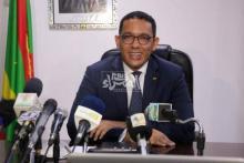 وزير البترول والمعادن والطاقة محمد ولد عبد الفتاح-(المصدر: الصحراء)