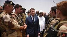الرئيس الفرنسي إمانويل ماكرون