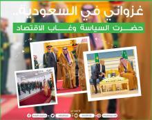 الرئيس غزواني في السعودية - (تصميم: الصحراء)
