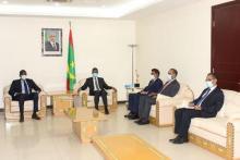 الوزير الأول يستقبل المفوض السامي لمنظمة استثمار نهر السنغال ـ(المصدر: وما)