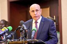 الرئيس محمد ولد الشيخ الغزواني / (المصدر:الرئاسة المالية)