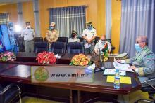 قائد الأركان يشارك في اجتماع لقادة أركان مجموعة الساحل ـ (المصدر: وما)
