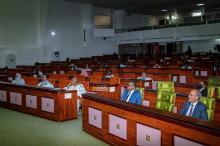 جانب من افتتاح الدورة البرلمانية (المصدر الانترنت)