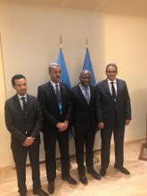 الوفد الموريتاني المشارك في اجتماعات IFAD بروما (المصدر: انترنت)