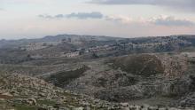 """""""معاليه أدوميم"""" تعد ثالث أكبر مستوطنة بالضفة الغربية (رويترز)"""