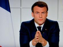 الرئيس الفرنسي إمانويل ماكرون-(المصدر: الأنترنت)