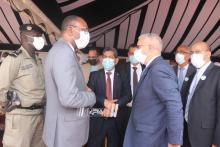 جانب من حفل إطلاق الحملة الوطنية للتلقيح-(المصدر: الصحراء)