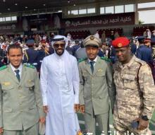 ضباط موريتانيون في حفل التخرج بدولة قطر - (المصدر: الإنترنت)