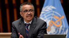 مدير منظمة الصحة العالميةتيدروس أدهنوم غيبريسوس ـ (المصدر: الإنترنت)
