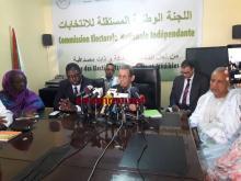 ولد بلال خلال حديثه في المؤتمر الصحفي