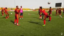 تدريبات المنتخب الوطني للمحليين
