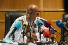 رئيس اللجنة الإعلامية المنبثقة عن لفيف المحامين فضيلي ولد الرايس ـ (المصدر: الصحراء)