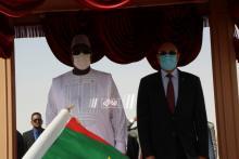 الرئيس غزواني مع الرئيس السنغالي ـ (المصدر: الصحراء)