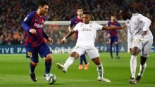 """من مباراة """"الكلاسيكو"""" الأخيرة بين ريال مدريد وبرشلونة"""