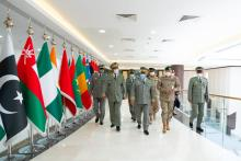 قائد الأركان يزور قيادة التحالف الإسلامي العسكري ـ (المصدر: موقع الجيش)