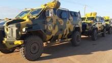 مدرعات تابعة للجيش الليبي