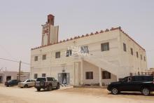 """صلاة الجمعة من جامع """"الإجابة"""" في نواكشوط ـ (المصدر: الصحراء)"""