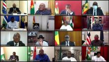 قادة المجموعة الاقتصادية لدول غرب إفريقيا ـ (المصدر: الإنرنت)