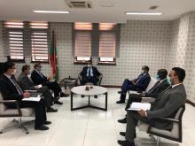 جانب من الاجتماع (إذاعة موريتانيا)
