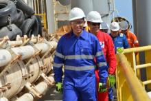 وزير البترول و الطاقة و المعادن - محمد ولد عبد الفتاح