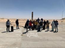 طلاب موريتانيون منعوا من عبور الحدود الموريتانية المغربية-(المصدر: الصحراء)
