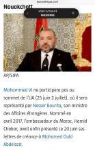 نص الخبر - صحيفة Jeune Afrique