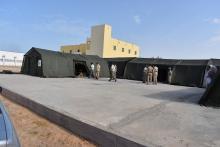 واجهة المستشفى الميداني للجيش الموريتاني