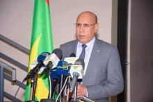 الرئيس محمد ولد الشيخ الغزواني(المصدر :وما)