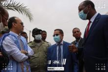 وزير المياه والصرف الصحي سيد أحمد ولد محمد (الصحراء)