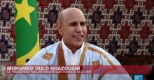 الرئيس محمد ولد الشيخ الغزواني في مقابلة مع فرانس 24 ـ (المصدر: الانترنت)