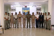 جانب من زيارة الوفد العسكري السعودي