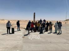 الطلاب العالقون على الحدود مع المغرب(أرشيف الصحراء)
