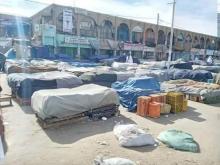 """سوق """"كبتال"""" بالعاصمة بعد إغلاقه اليوم(المصدر:انترنت)"""