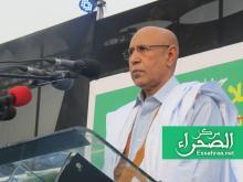 الرئيس محمد ولد الشيخ الغزواني (المصدر:إرشيف الصحراء)