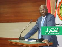 وزير التعليم العالي الناطق باسم الحكومة سيدي ولد سالم – (المصدر: الصحراء)