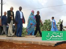وزير الداخلية ووزيرة الإسكان في زيارة لسيليبابي - (أرشيف الصحراء)