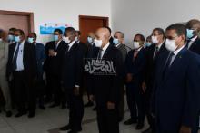 الرئيس غزواني يشرف على إطلاق حملة التلقيح ضد كورونا ـ (المصدر: الصحراء)