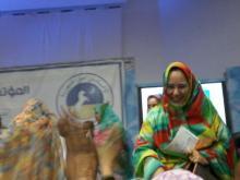 رئيسة نساء UPR أمتها بنت الحاج - (المصدر: الإنترنت)