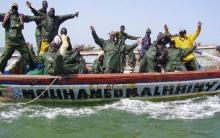صيادون سنغاليون - (المصدر: فيفافريك السنغالية)