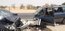 حادث سير على طريق الأمل (الصحراء)