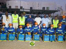 بعض المشاركين في حملة التنظيف - (المصدر: وما)